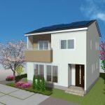 28037太陽の恵みの家 サンブレストType8 無垢の床 太陽光発電・オール電化標準装備 会津に住もう!エクセルホーム福島