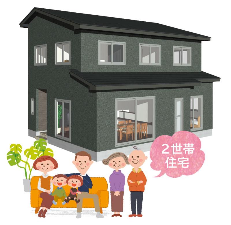 間取りを工夫。仲良し大家族が集うコンパクトな2世帯住宅ができました。
