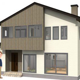 お客様の家完成見学会 薪ストーブと吹き抜け畳リビングで絶対の開放感 会津 注文住宅