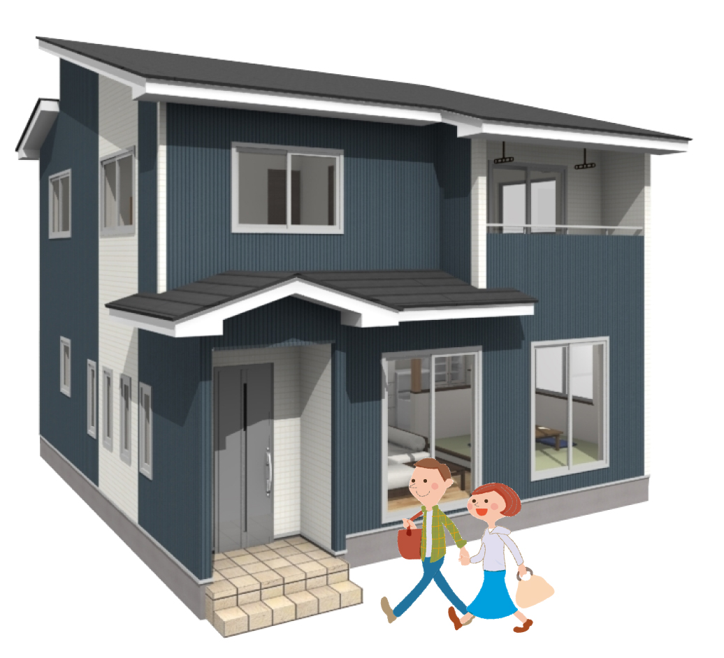 完成見学会 会津若松市 戸建て 新築