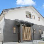 27022和のエッセンスを取り入れた 大屋根が印象的なお家 無垢材使用 会津に住もう! エクセルホーム福島